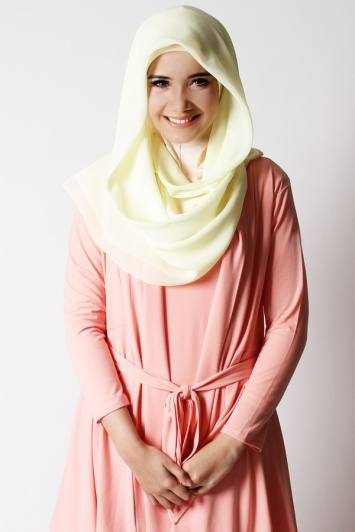 Hijab Pastel Fashion Hijab